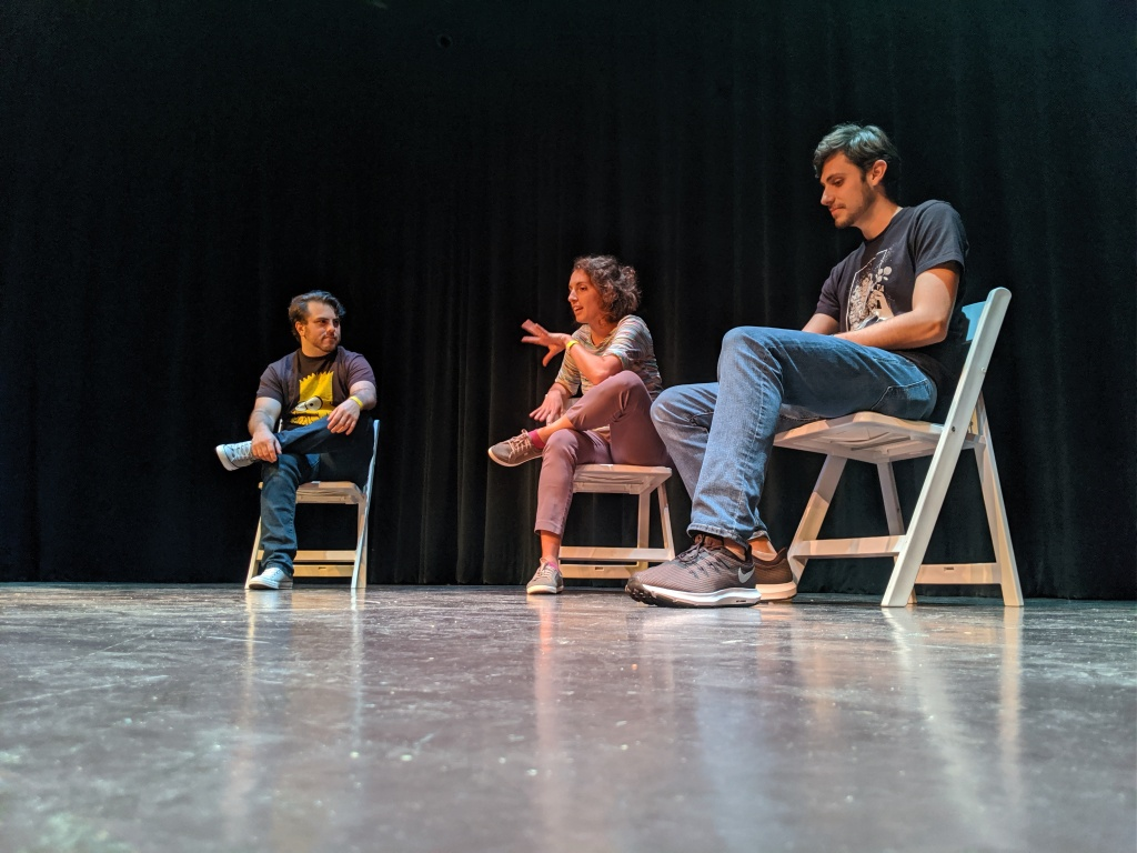 House Improv performs at Hippodrome Theater